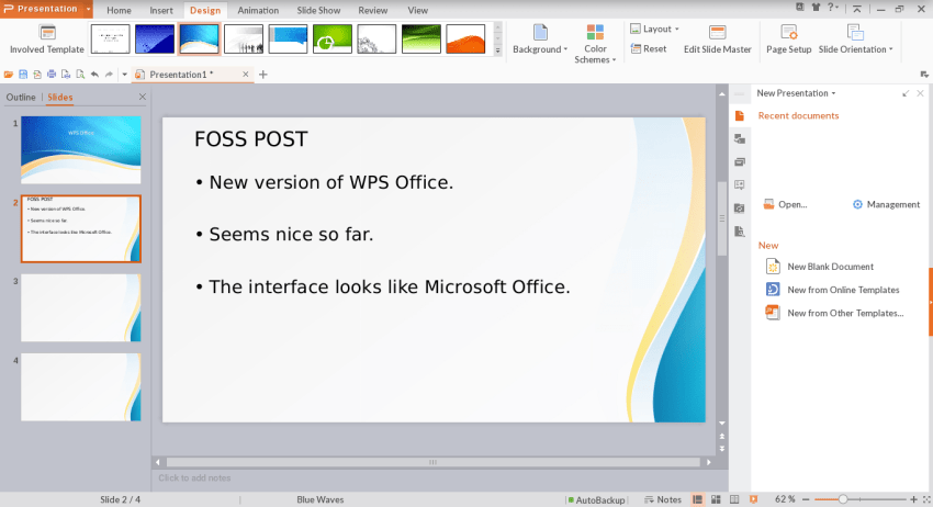 WPS Office for Linux