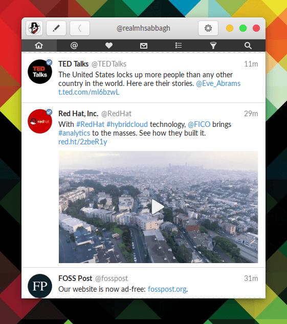 Hands on Corebird: A GTK+ Twitter Client 29