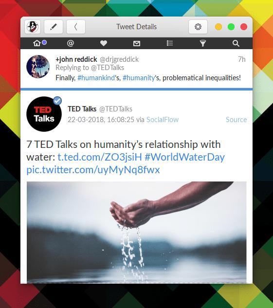 Hands on Corebird: A GTK+ Twitter Client 47