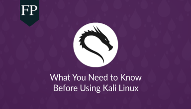 Kali Linux: What You Must Know Before Using it 155 Kali Linux