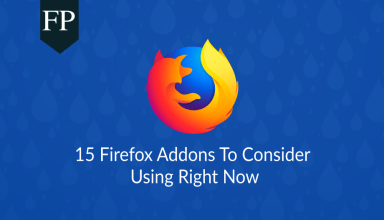 15 Firefox Addons To Consider Using Right Now 11