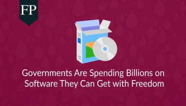 Governments Are Spending Billions on Software They Can Get with Freedom 199