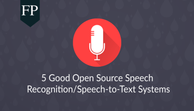 5 Good Open Source Speech Recognition/Speech-to-Text Systems 1 open source speech recognition