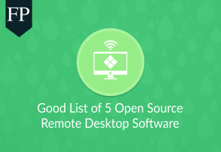 Good List of 5 Open Source Remote Desktop Software 149 open source remote desktop