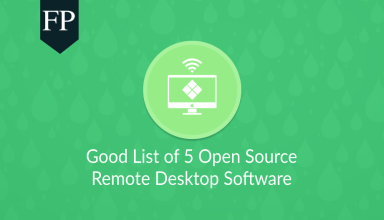 Good List of 5 Open Source Remote Desktop Software 69