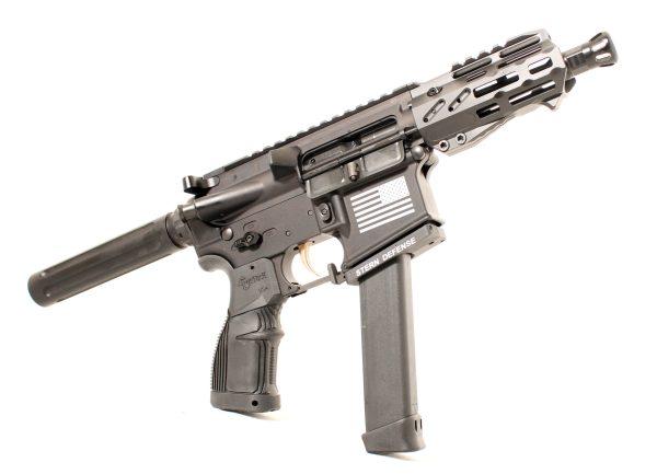 Tech 15 9mm Pistol Side View