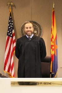 Judge Beene Stand Vertical