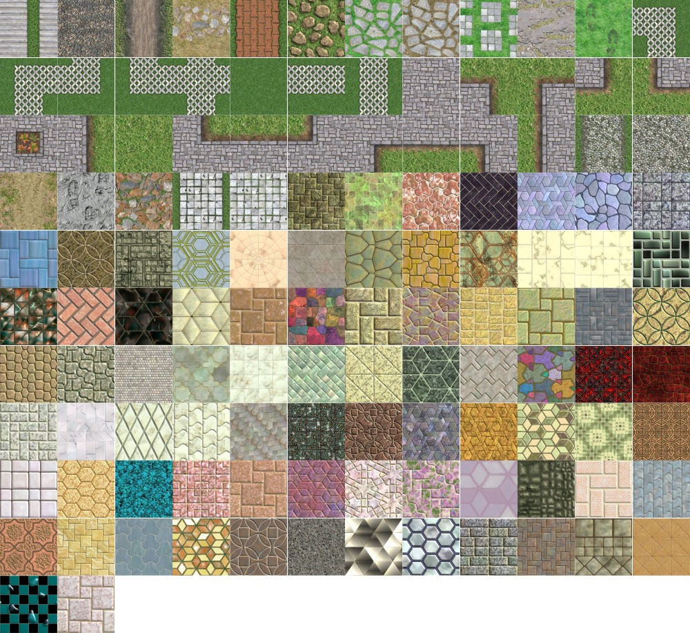 Textures Unleashed Pro Volume 9: Tile and Path