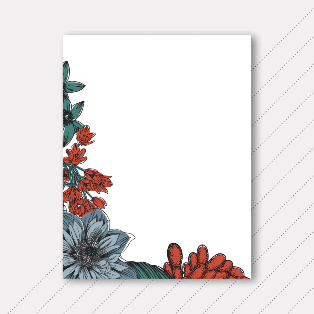 Foster The Love - Floral Notepad