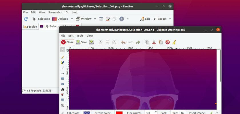 Shutter Screen Capture