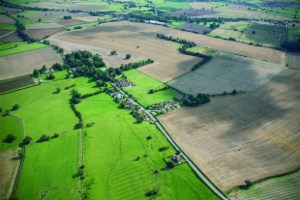 Aerial view of Foston