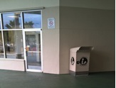 Library book drop donated by St. Thomas Library Friends now at Tutu Park Mall (photo: DLAM)