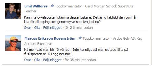 Erik Zabel dopad - Aftonbladet kommentarer