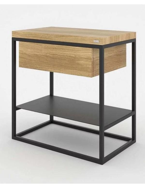 table de chevet en bois avec etagere moonlight take me home