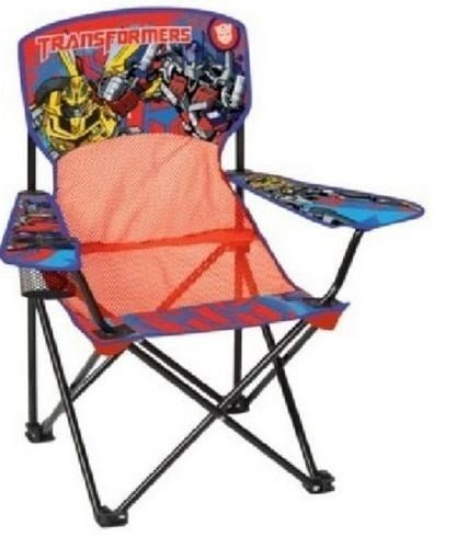 child camping chair orange resin adirondack folding chairs ideas on foter transformers mesh with arm rest cup holder