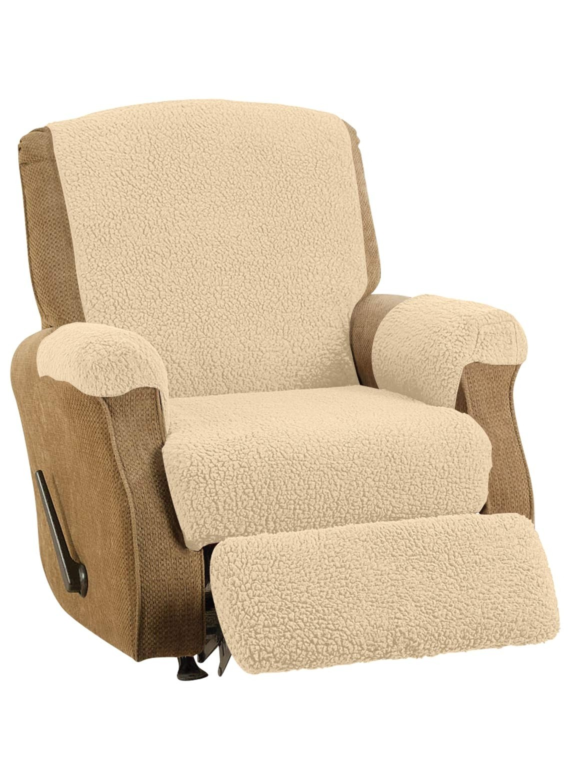 electric recliner chair covers australia pvc adirondack chairs best for sale ideas on foter fleece cover color natural