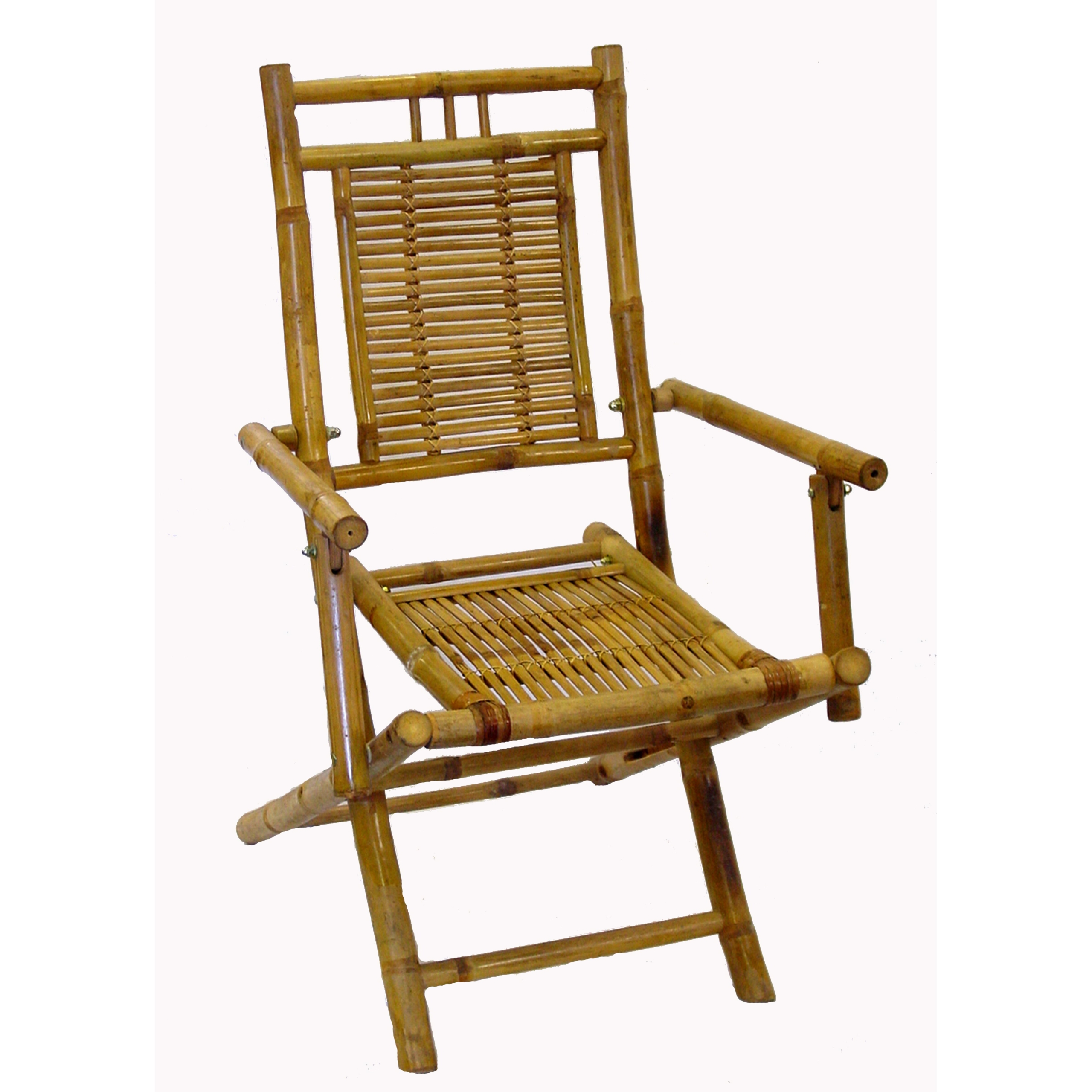 bamboo outdoor chairs folding rental patio ideas on foter chair w armrest set of 2