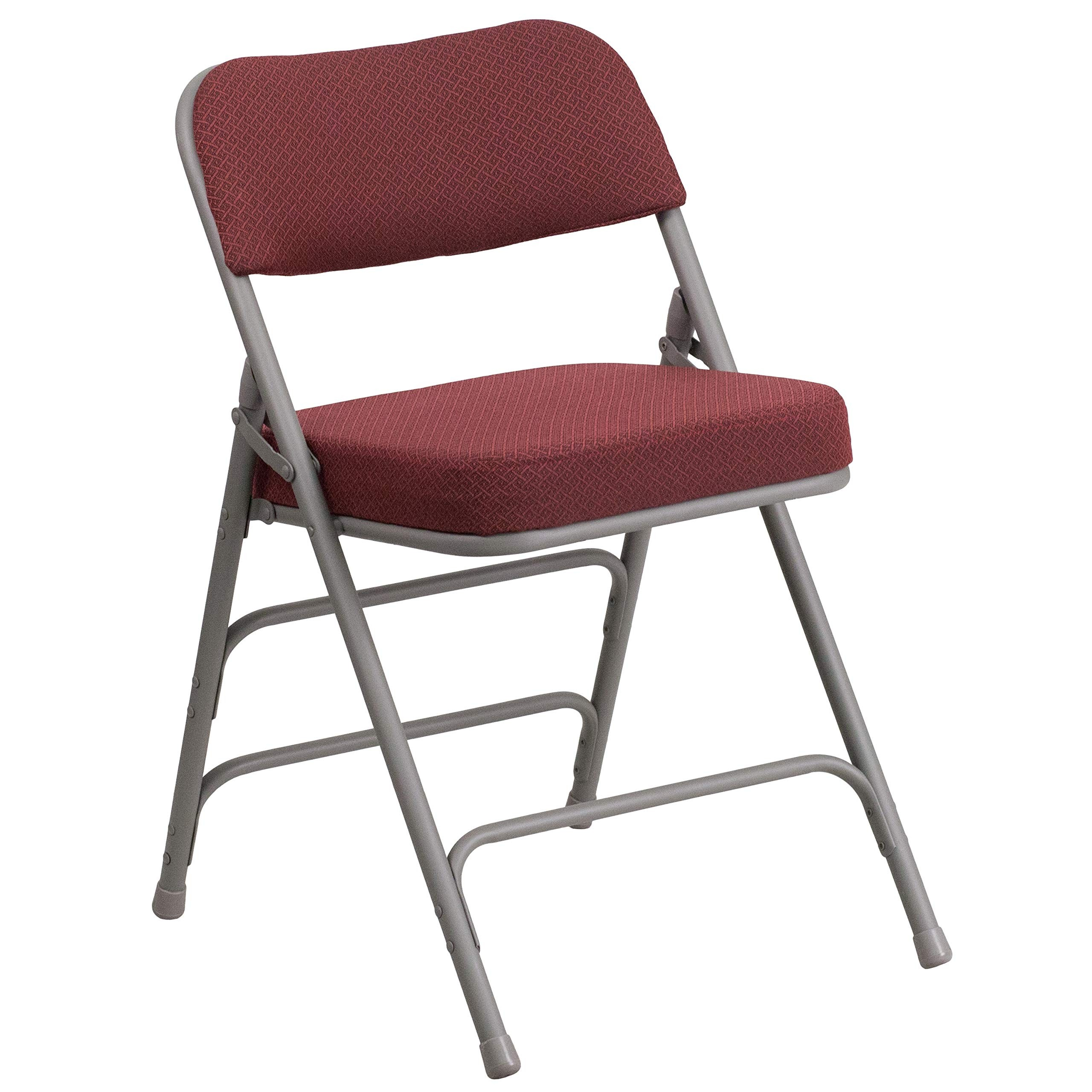 upholstered folding chairs uk faux bamboo australia dining ideas on foter flash furniture ha mc320af gry gg hercules series premium curved triple braced and