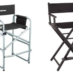 Personalized Makeup Chair Upholstered Folding Aluminum Directors Chairs Ideas On Foter Seya All Black Lightweight 100 Frame Portable Artist Director