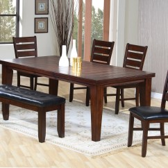 Table With Chairs Tall Outdoor Dining And Bench Ideas On Foter 6pc Set Ladder Back Dark Oak Finish