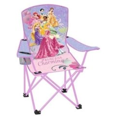 Youth Folding Chair Pottery Barn Covers Camping Chairs Ideas On Foter Disney Princess With Armrest And Cup Holder