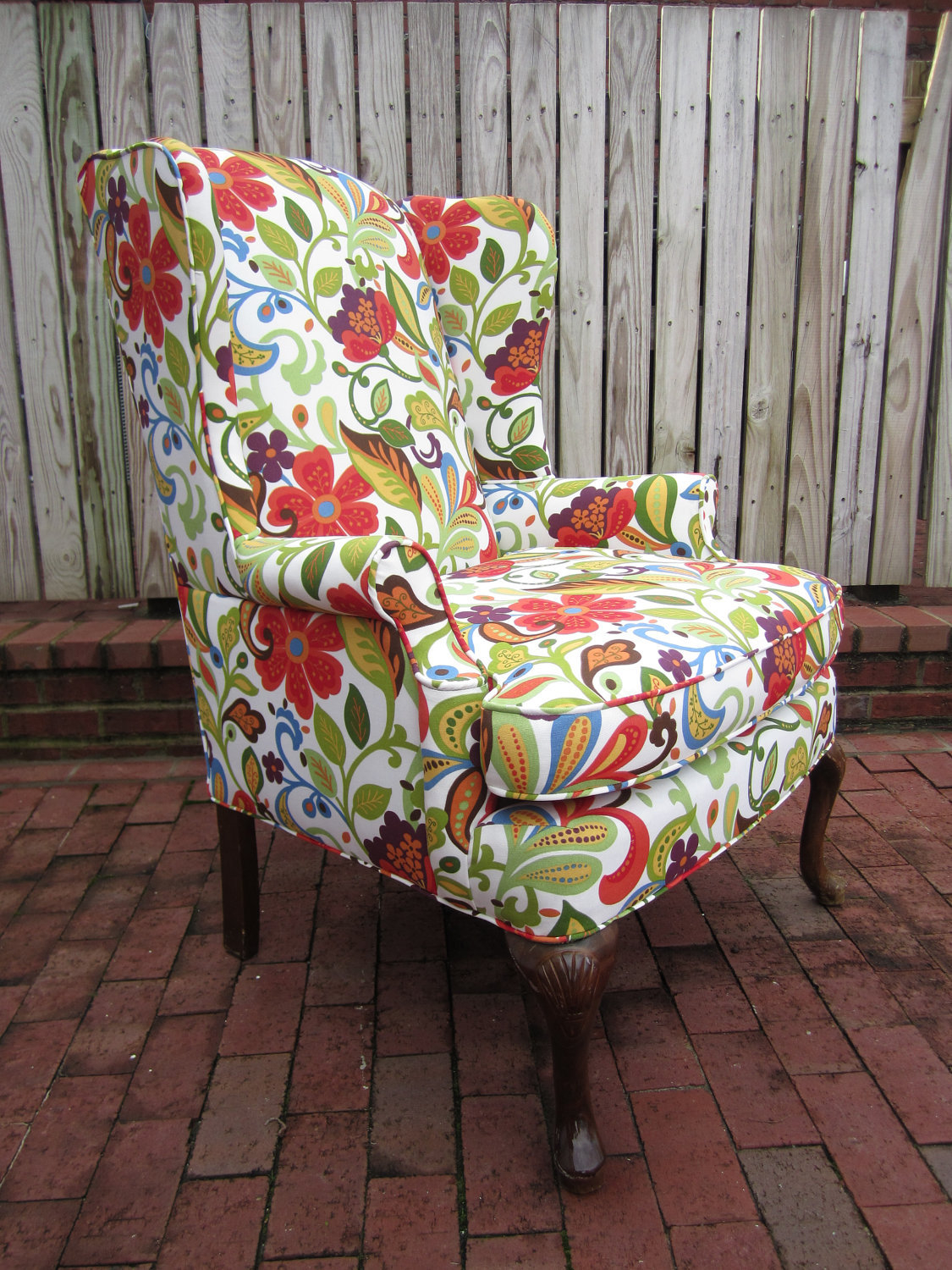 Red Wingback Chair  Ideas on Foter