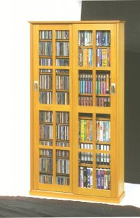 Dvd Cabinet With Glass Doors - Foter