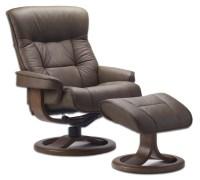 Swedish Leather Recliner Chairs - WilliamRamsEyer.com