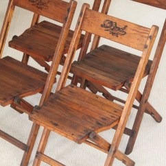 Brown Wooden Folding Chairs Red Recliner Chair Uk Ideas On Foter Old