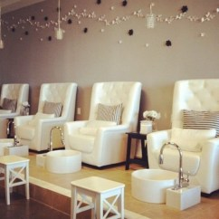Beauty Salon Waiting Area Chairs Cushions For Wicker Pedicure - Foter