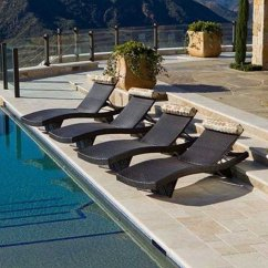 Poolside Lounge Chairs Deep Tissue Massage Chair Pool Ideas On Foter 6