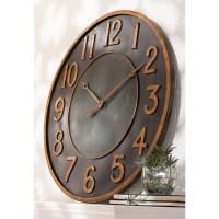 Metal Wall Clocks Large - Foter