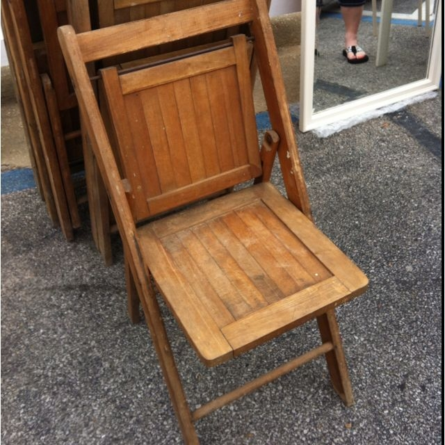 brown wooden folding chairs what are pool made out of ideas on foter vintage