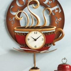 Wooden Kitchen Clock Small Tables Ikea Wall Clocks Ideas On Foter