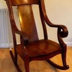 Antique Wooden Rocking Chairs Stool Chair Singapore Ideas On Foter 2