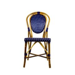 Blue Bistro Chairs Rustic Dining Room French Ideas On Foter 34