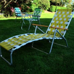 Webbed Chaise Lounge Chairs Weird Kneeling Chair Aluminum Lounges Ideas On Foter Mid Century