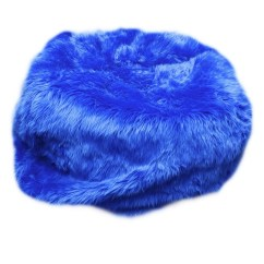 Blue Bean Bag Chairs White Wood Kitchen Fuzzy Bags Ideas On Foter Fur Chair Size 84 Color Royal