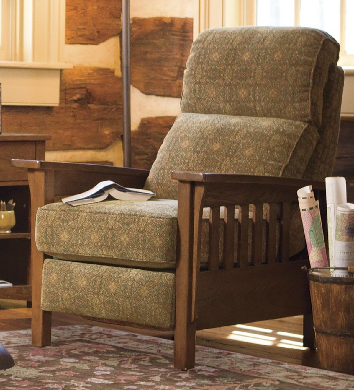 Mission Style Recliner Chair