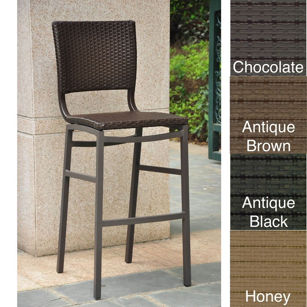 outdoor bar chairs white oak dining table and counter height stools ideas on foter barcelona resin wicker set of2