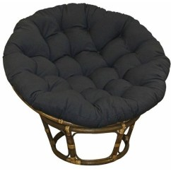 Big Round Chairs Fishing Chair Brolly Clamp Ideas On Foter Large Black 44 Inch Twill Papasan Lounge Seat Cushion Pillow For Maximum Comfort
