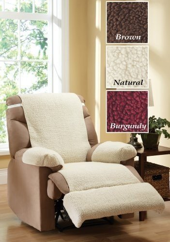 electric recliner chair covers australia with shade best for sale ideas on foter fleece cover 4 piece set natural