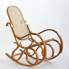 Antique Wooden Rocking Chairs And Ottoman Ideas On Foter Brand New Bentwood Wood Rattan Chair Armchair Style