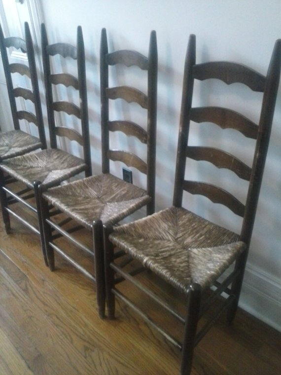 antique ladder back chairs with rush seats double camp chair ideas on foter wrush