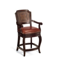 Counter Height Arm Chairs Linen Dining Room Chair Seat Covers Ideas On Foter Swivel Bar Stools With Arms
