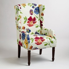 Floral Upholstered Chair High Back Patio Cushions Uk Accent Ideas On Foter Dining Chairs