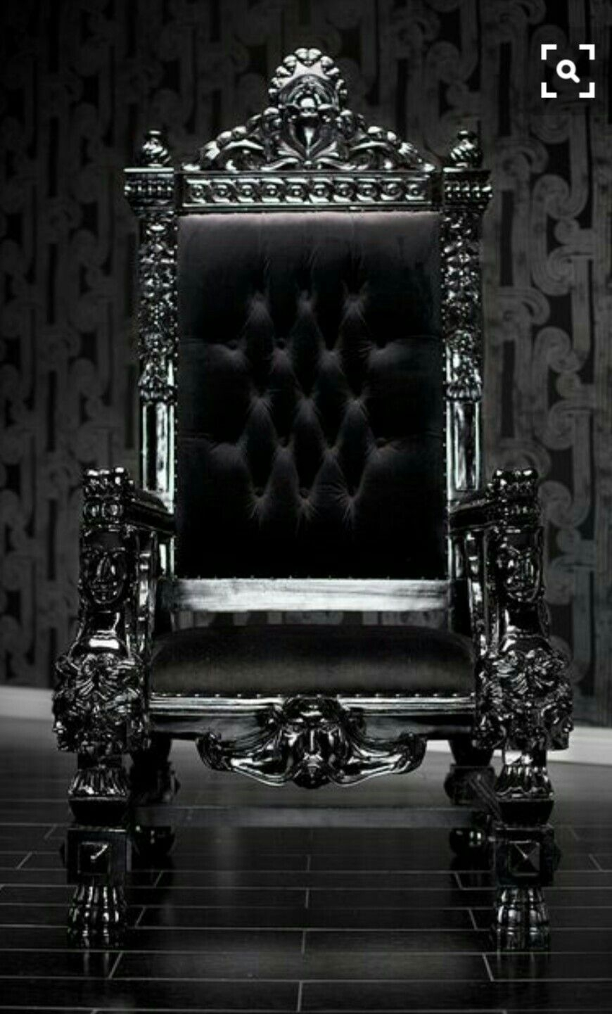 black gothic throne chair best computer ever ideas on foter 8