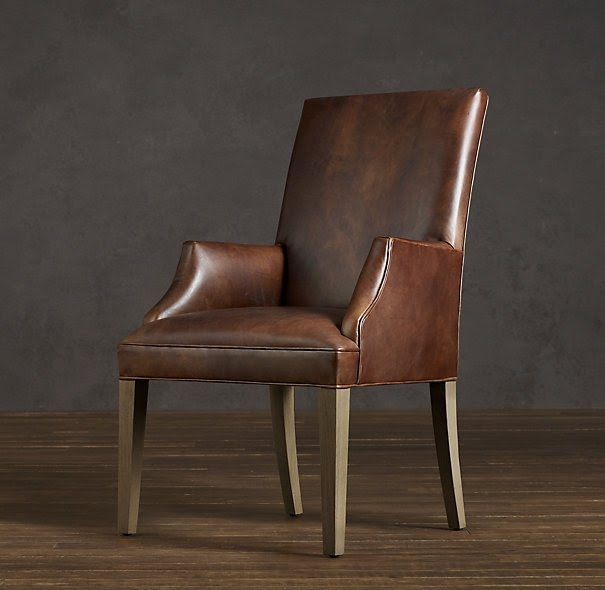 Leather Dining Room Chairs With Arms Foter