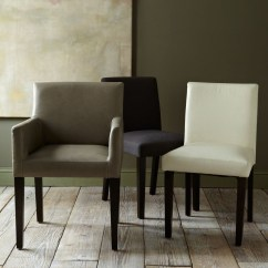 Leather Dining Room Chairs Desk Chair Tufted With Arms Ideas On Foter Porter Armchair Elephant