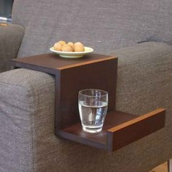 Sofa Armrest Drink Holder Divani Casa Potash Modern Taupe Fabric Set Arm Tray - Foter